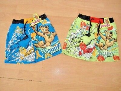 New Boys Scooby Doo Swimming Shorts Swim Shorts Ages 2 3 4 5 6 7 8