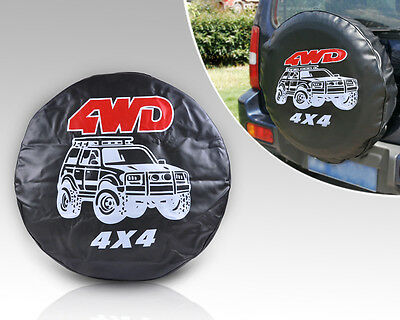 "31""-32"" Reserverad Ersatzrad Abdeckung Hülle Bezug Spare Tire Tyre Cover 4WD 4X4"