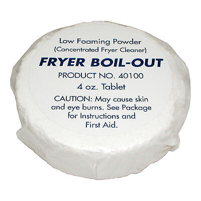 FRYER Boil-Out PUCKS (5-pucks) cleaning only 321654