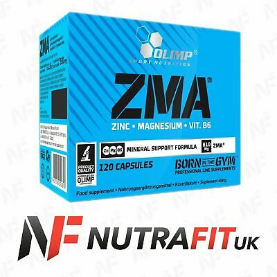 OLIMP NUTRITION ZMA caps zinc magnesium vtamin B6 testosterone booster