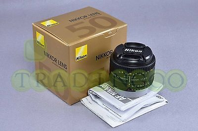 Brand New Nikon AF Nikkor 50mm f/1.8D /w 1 year Nikon warranty For D7000/D600