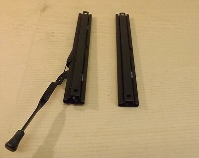 Pair Of Universal Car Seat Sliding Runners (One Seat) Sub3