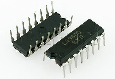 SANYO LA3600 5-BAND Graphic Equalizer Integrated Circuit