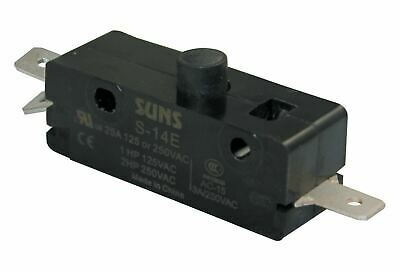 SUNS S-14E Pin Plunger Snap Action 25A Micro Switch E14-00A E1400A 0E14-00A
