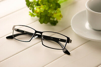 1X Colors Full Rim Stainless Metal Spectacles Reading Glasses Frames +1.00 ~3.50