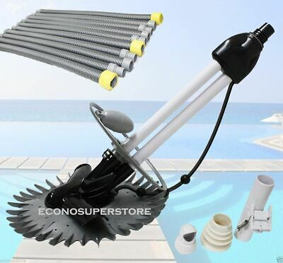 Stingray Inground Above Ground Swimming Pool Automatic Cleaner w 33' Vacuum Hose