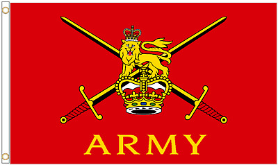 Armed Forces Day British Army 5'x3' Flag