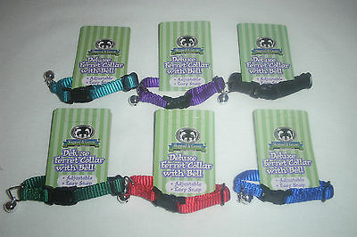 Sheppard & Greene Lot of Ferret & Tiny Dog Collar - Includes 6 Bell Collars