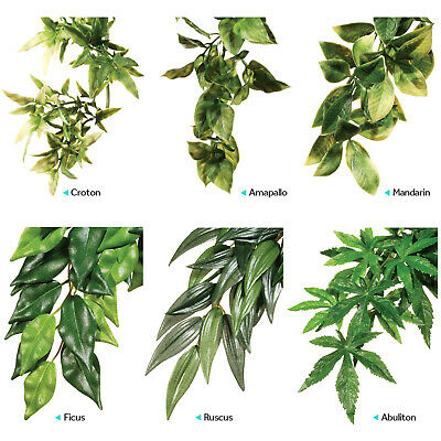 Exo Terra Plant Replica Ficus Ruscus Abutilon Small Medium Large