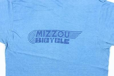 70s Vintage Mizzou Bicycle T Shirt Approx. Size S