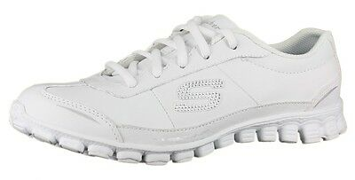 Women's Skechers Ez Flex Bewilder 22148 Color: White