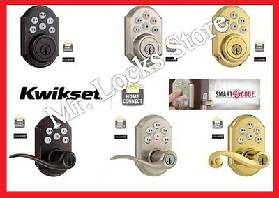 Kwikset 910 & 912 Smart Home Deadbolts & Door Locks with Wireless Z-Wave Module