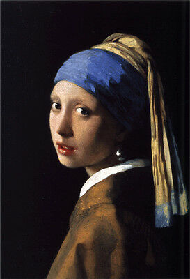 "Johannes Vermeer 'Girl with the Pearl Earring' Large Canvas Art 20"" x 30"""