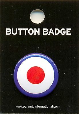 Target Mod 25mm Button Badge Pin Carded