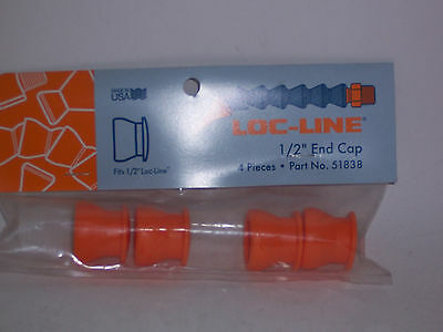 "Loc-Line 1/2"" Hose End Caps 51838 NEW!!!"