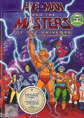 He-Man and the Masters of the Universe (Season 1+2) DVD + Free Gift