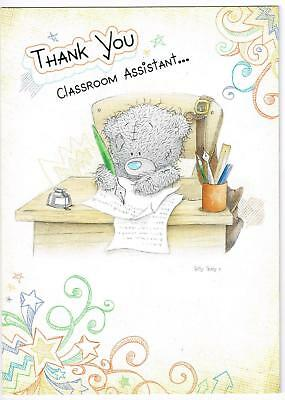 Me To You Thank You Classroom Assistant ... Tatty Teddy Bear Card New