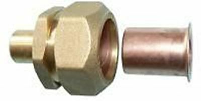 brass adaptor for MDPE poly pipe different sizes