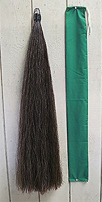 New! 1.50# Dark Mix Horse Tail Extension by KATHYS TAILS False Tail & FREE BAG!