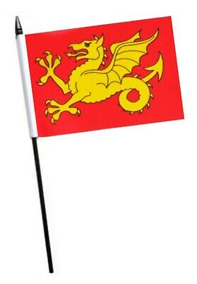 Wessex Small Hand Waving Flag