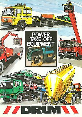 Drum Power Take-Off Equipment Brochure