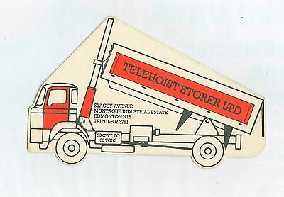 Telehoist Storer Tippers Promotional Picture Card