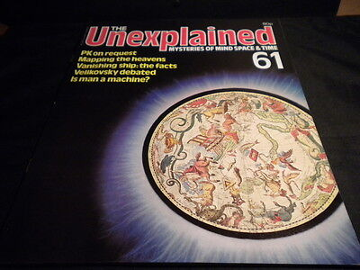 The Unexplained Orbis Issue 61 - Pictures in the stars - minds over matter