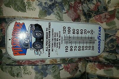 Advertisement thermometer