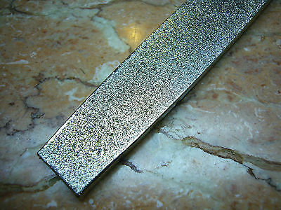 "10"" inch 250mm long THK Diamond Coated FLAT File Grit 60 coarse grit files"