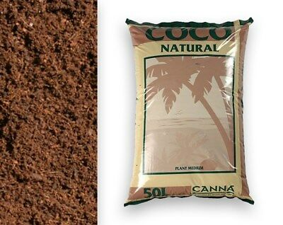Canna Coco Natural 50L Bag Coir Coco Hydroponic Soil Growing
