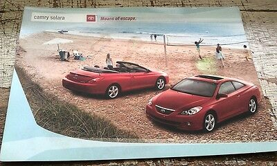 4 x TOYOTA  USA POSTCARDS -  Camry Avalon Sequoia 4wd 04-05