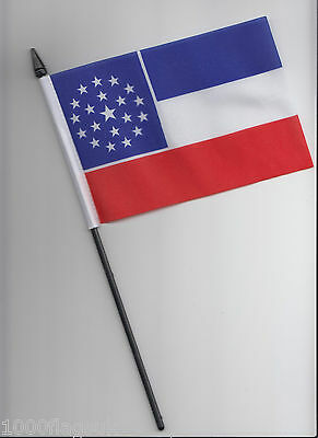 Mississippi US State 2001 Proposal Small Hand Waving Flag