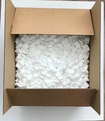 Packing Chips Polystyrene void fill & Box - Small Parcel Size Royal Mail Post