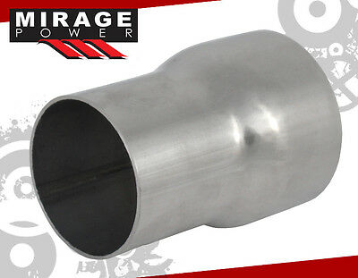 """2.5"""" INCH TO 3"""" INCH WELDABLE TURBO/EXHAUST STAINLESS STEEL REDUCER ADAPTER PIPE"""