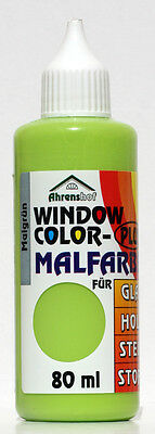 Window Color Plus - Fenstermalfarbe Maigrün 80ml
