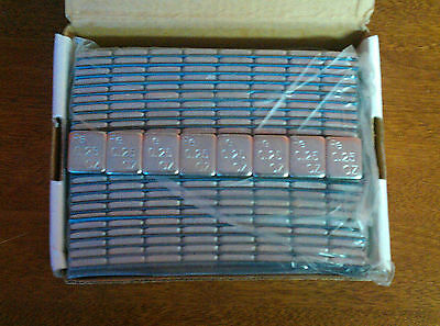 1/4 oz ADHESIVE STICK ON WHEEL BALANCING WEIGHTS, ZINC COATED, 400 PIECES. *NEW*