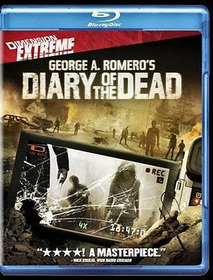 NEW BLU RAY - Diary of the Dead - GEORGE A. ROMERO , MICHELLE MORGAN