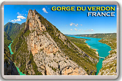 Gorge Du Verdon France Fridge Magnet Souvenir Iman Nevera