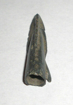 Ancient Bronze 500-300 BC. Arrowhead