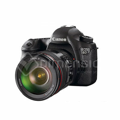 Canon EOS 6D (WG) with EF 24-105mm Kit WIFI GPS Camera + Lens Kit