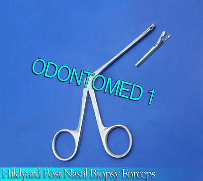 Hildyard Post-Nasal Biopsy Forceps ENT Surgical Inst 2mm cup