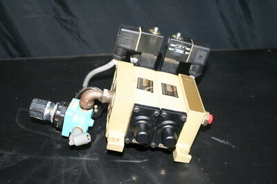 Pneumatic solenoid 5/2 Pilot spool valve K79DA00 24V Norgren Lot of 2