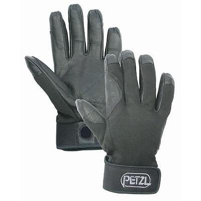 Genuine Petzl Cordex Lightweight Belay/Rappel Gloves Black all sizes
