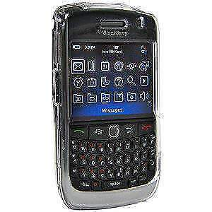 2013 New Amzer Clear Snap On Crystal Hard Case For Blackberry Curve 8900 - Clear