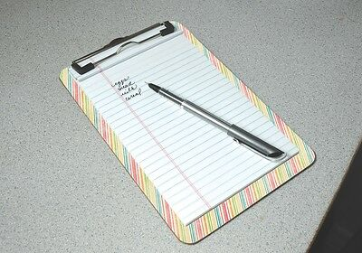 Personalized Dry-Erase Clipboard with your own Photo, Text, Logo or Design