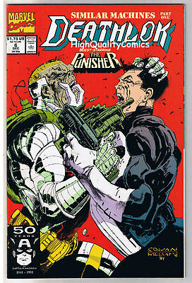 DEATHLOK #1 2 3 4 5 6 7 8 9 10, NM+, Punisher, Ghost Rider, Guns, 1991