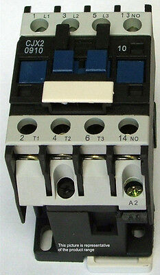 Contactor Relay: Power 4kW - 9A - Aux:1NO 240V coil