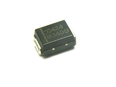 50pcs Diodes Inc. Schottky Power Rectifier 3A 40v B340B-13  SMT SMD