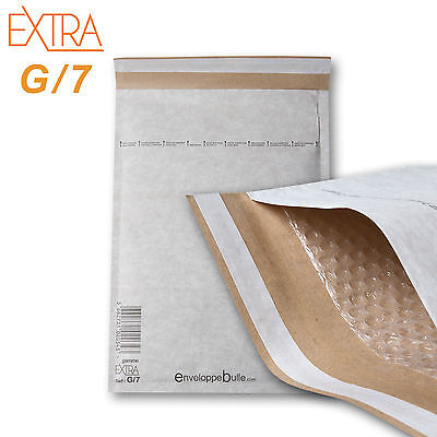 10 Enveloppes à bulles rigides EXTRA taille G/7 format 240x335mm