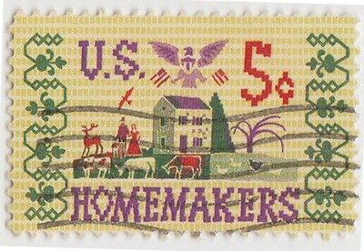(USB201)1964 USA 5c home makers commemorations ow1235